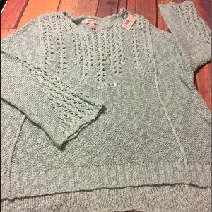 Mint green plus size sweater